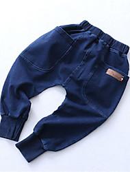preiswerte -Baby Jungen Grundlegend Solide Jeans