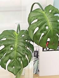 Недорогие -Искусственные Цветы 1 Филиал Классический Односпальный комплект (Ш 150 x Д 200 см) Стиль Современный современный Pастений Вечные цветы Букеты на пол