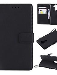 Недорогие -Кейс для Назначение Nokia Nokia 9 / Nokia 8 Кошелек / Бумажник для карт / Флип Чехол Однотонный Твердый Кожа PU для Nokia 9 / Nokia 8 / Nokia 6