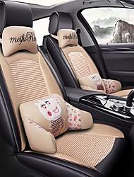 Недорогие -ODEER Подушечки на автокресло Чехлы для сидений Бежевый текстильный / Искусственная кожа Общий for Универсальный Все года Все модели