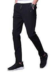abordables -Hombre Tallas Grandes Delgado Chinos Pantalones - Un Color