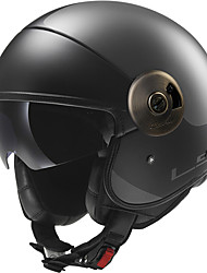 baratos -LS2 OF597 Meio Capacete Adulto Unisexo Capacete de Motociclista Prova-de-Água / Resistente ao Choque / Anti-Roupa