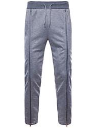 abordables -Hombre Básico Chinos / Pantalones de Deporte Pantalones - Un Color