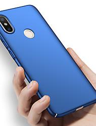 abordables -Coque Pour Xiaomi Mi 8 Ultrafine Coque Couleur Pleine Dur PC pour Xiaomi Mi 8