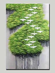 Недорогие -mintura® ручной росписью современной абстрактной картины маслом пейзаж на холсте картины настенного искусства для домашнего украшения, готового повесить
