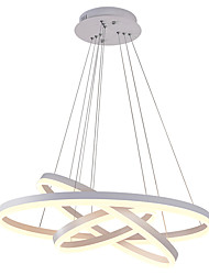 billige -OBSESS® 3-Light Cirkelformet Lysestager Ned Lys - Ministil, Kreativ, 110-120V / 220-240V, Varm Hvid / Kold Hvid, LED lyskilde inkluderet