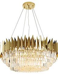 cheap -QIHengZhaoMing Crystal Chandelier Ambient Light 110-120V / 220-240V, Warm White, Bulb Included / 10-15㎡
