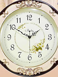cheap -Modern / Contemporary Plastic Round Indoor,AA Batteries Powered Wall Clock