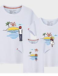 economico -Bambino Sguardo di famiglia Monocolore Manica corta T-shirt