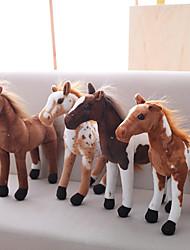 baratos -Cavalo Animais de Pelúcia Animais Fofo Acrílico / Algodão Brinquedos Dom 1 pcs