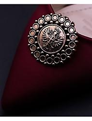abordables -2pcs El material especial Accesorios Decorativos Mujer Otoño Casual Dorado / Plateado