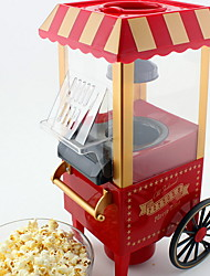 abordables -Moulins et moulins à provisions Design nouveau PP / ABS + PC Popcorn Maker 220-240 V 50 W Appareil de cuisine