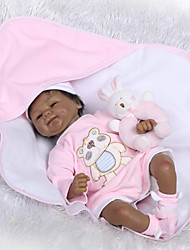 cheap -NPKCOLLECTION Reborn Doll Baby 18 inch Artificial Implantation Brown Eyes Kid's Unisex Gift
