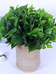 Недорогие -Искусственные Цветы 1 Филиал Классический / Односпальный комплект (Ш 150 x Д 200 см) Простой стиль / Modern Pастений / Вечные цветы Букеты на стол