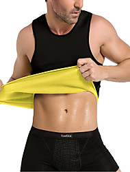 cheap -Men Waist Trainer Corset Vest / Tank Top / Body Shaper With Neoprene No Zipper, Hot Sweat Slimming, Weight Loss, Tummy Fat Burner For Exercise & Fitness / Gym / Workout