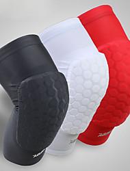 abordables -Attelle de Genou pour Basket-ball / Cyclisme / Course / Running Homme Résistant aux impacts Sports Lycra Spandex 1 pièce Blanc / Noir /