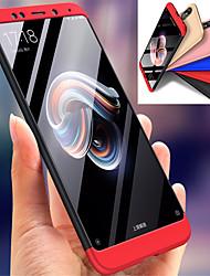 abordables -Coque Pour Xiaomi Redmi Note 5 Pro Antichoc Coque Intégrale Couleur Pleine Dur PC pour Xiaomi Redmi Note 5 Pro