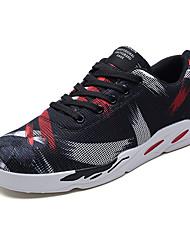 cheap -Men's Canvas Summer Comfort Sneakers Color Block Red / Blue / Black / White