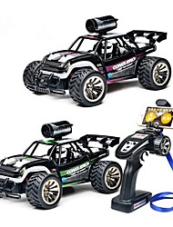 abordables -Coche de radiocontrol  BG1516 With 480P Camera 4 Canales 2.4G Carro de Carreras / Drift Car 1:16 Brushless Eléctrico KM / H