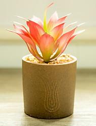abordables -Flores Artificiales 1 Rama Clásico Rústico Plantas Flor de Mesa