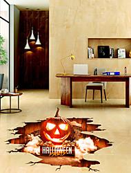 Недорогие -Напольные наклейки - 3D наклейки Halloween / 3D Гостиная / Спальня / Ванная комната