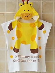 Недорогие -Высшее качество Банный халат, Мультипликация 100% хлопок Ванная комната 1 pcs