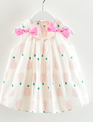 cheap -Baby Girls' Fruit Sleeveless Dress