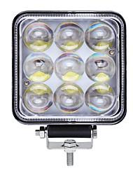 Недорогие -1 шт. Автомобиль Лампы 45 W Интегрированный LED 4500 lm 9 Светодиодная лампа Внешние осветительные приборы For Универсальный 2018
