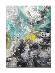 cheap -STYLEDECOR Modern Hand Painted Abstract The Texture Waves Series Two on Canvas Oil Painting for Wall Art