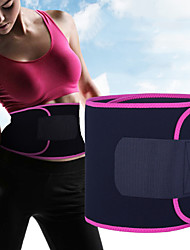 cheap -Sweat Waist Trimmer / Sauna Belt With 1 pcs Rubber Adjustable, Stretchy Weight Loss, Calories Burned, Tummy Fat Burner For Yoga / Exercise & Fitness Waist Sports Outdoor