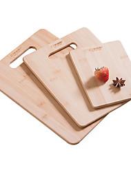 baratos -Utensílios de cozinha Bambu Rapidez / Criativo Placa de Corte Uso Diário / Para utensílios de cozinha 3pçs