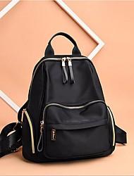cheap -Women's Bags Polyester School Bag Zipper Black
