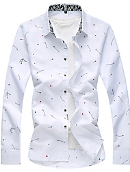 billige -Herre - Prikker Basale Skjorte
