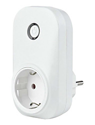 cheap -WETO Smart Wi-Fi Plug EU wifi power socket outlet smart Home Automation APP Control switch for iphone Android with Alexa Google Home