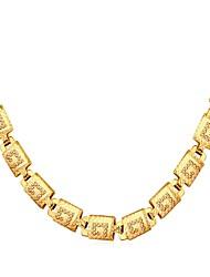 economico -Per uomo Filo singolo Girocolli - Di tendenza Oro, Argento, Oro rosa 56 cm Collana 1pc Per Regalo, Quotidiano