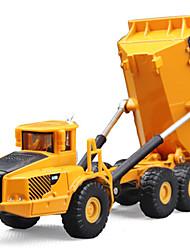 Недорогие -Игрушечные машинки Грузовик Транспорт / Грузовик / Транспортер грузовик Вид на город / Cool / утонченный Металл Все Для подростков Подарок 1 pcs