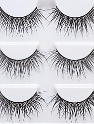 cheap -lash False Eyelashes Portable / Professional Makeup 1 pcs Eye Trendy / High Quality Event / Party / Daily Wear Daily Makeup / Halloween Makeup / Party Makeup Natural Curly Cosmetic Grooming Supplies