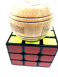 abordables -Rubik's Cube 6 pièces WMS artisanat du bois Jouet USB Scramble Cube / Floppy Cube 3*3*3 Cube de Vitesse  Cubes Magiques Casse-tête Cube Ecole Soulagement de stress et l'anxiété Synthétique Adolescent