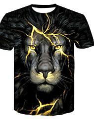 cheap -Women's Going out T-shirt - Animal