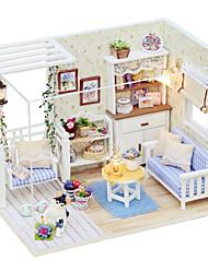 Недорогие -Кукольный домик утонченный Взаимодействие родителей и детей 1 pcs Куски Детские Игрушки Подарок