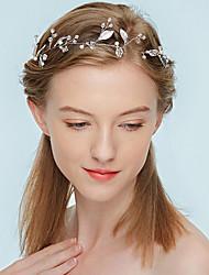 Недорогие -Жен. Простой / Элегантный стиль Цепочка на голову - Перекрещивание Ткань / Сплав, Цветочный принт / Хайратники