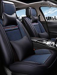 abordables -ODEER Fundas para asiento Cubre asientos Negro / Azul Textil Común for Universal Todos los Años Todos los modelos