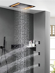 cheap -Shower Faucet - Contemporary Painting Shower System Ceramic Valve
