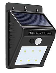 Недорогие -1 комплект 3 W LED прожекторы Солнечная энергия Естественный белый <5 V 6 Светодиодные бусины