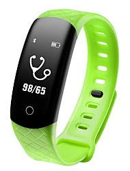 cheap -Smart Bracelet CB608 PRO for iOS / Android 4.3 and above Touch Screen / Heart Rate Monitor / Creative Pedometer / Sleep Tracker / Find My Device