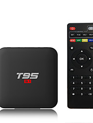 Недорогие -PULIERDE T95S1-1 TV Box Android 7.1 TV Box Amlogic S905W 2GB RAM 16Гб ROM Quad Core Новый дизайн
