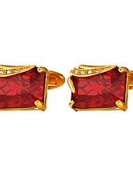 cheap -Silver / Golden Cufflinks Copper Formal / Fashion Men's Costume Jewelry For Gift / Daily