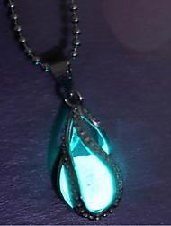Недорогие -Жен. Длиные Ожерелья с подвесками - Винтаж, Мода Синий 25 cm Ожерелье 1шт Назначение Halloween, Бар