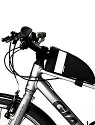 abordables -Bolsa para Cuadro de Bici 6.5 pulgada Impermeable, Portátil Ciclismo para Ciclismo / Todo Teléfono móvil Negro