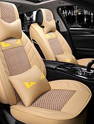 baratos -ODEER Capas para Assento Automotivo Capas de assento Bege Têxtil Comum for Universal Todos os Anos Todos os Modelos